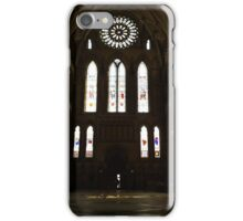 Minster view iPhone Case/Skin