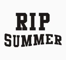 RIP Summer Kids Clothes