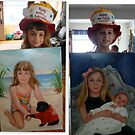 Party Hats and Portraits by Cathy Amendola