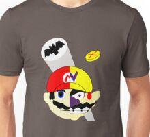 Mario Two Face Dent Unisex T-Shirt