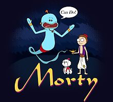 Rick and Morty Aladdin Parody by BovaArt