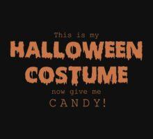 """Halloween Costume"" -orange font by RoufXis"