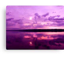 Sunrise on LaDue Canvas Print