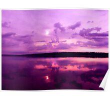 Sunrise on LaDue Poster