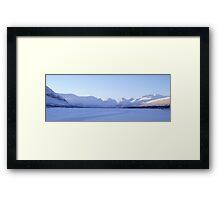 Swedens Highest Mountain/Glacier Framed Print