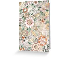 Spring pattern Greeting Card