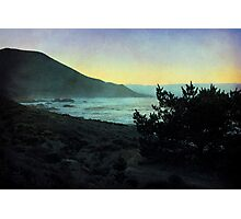 Evening on the California Coast Photographic Print