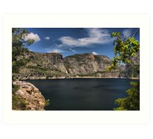 Hetch Hetchy Art Print