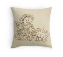 puppet Throw Pillow