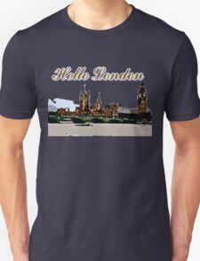 Beautiful London Bigben& Thames river T-Shirt
