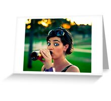 Park Drinkin' Greeting Card