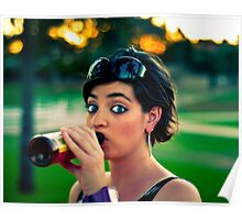 Park Drinkin' Poster
