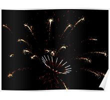 4th of July Fireworks II Poster