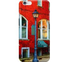 Walking down Battle Alley iPhone Case/Skin
