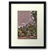 Entrance to a Peaceful Place Framed Print