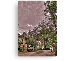 Entrance to a Peaceful Place Canvas Print