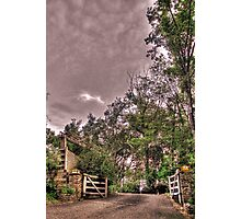 Entrance to a Peaceful Place Photographic Print