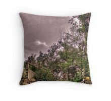 Entrance to a Peaceful Place Throw Pillow