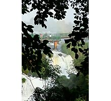 Above the falls, Brazil Photographic Print
