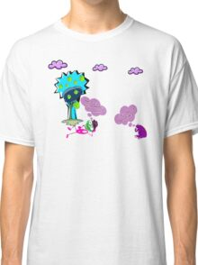 Unique funny cartoon about life Classic T-Shirt