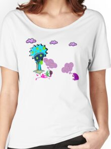 Unique funny cartoon about life Women's Relaxed Fit T-Shirt