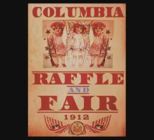 BioShock Infinite – Columbia Raffle and Fair Poster by PonchTheOwl