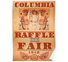 BioShock Infinite – Columbia Raffle and Fair Poster Poster