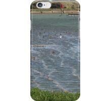 Highest Tide, Rye Harbour  iPhone Case/Skin