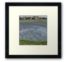 Highest Tide, Rye Harbour  Framed Print