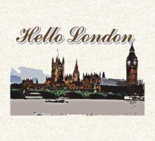 Beautiful London Bigben& Thames river art by cheeckymonkey