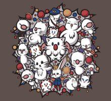 Final Fantasy Moogles - Pom Pom Party Baby Tee
