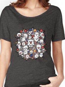Final Fantasy Moogles - Pom Pom Party Women's Relaxed Fit T-Shirt