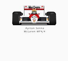 Ayrton Senna - McLaren MP4/4 front view T-Shirt