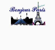 Beautiful architecture Luvoure museum ,Effel tower Paris france graphic art Unisex T-Shirt