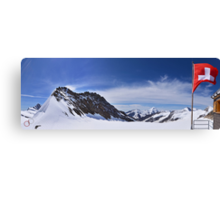 Jungfraujoch Views - the Spirit of Switzerland Canvas Print