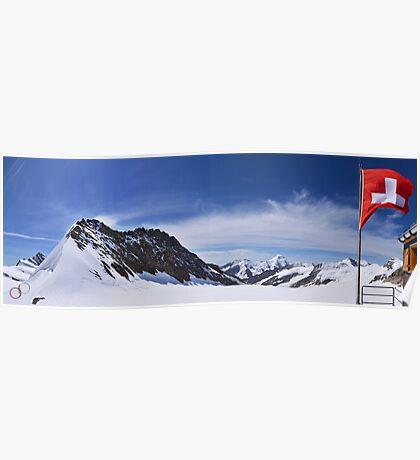 Jungfraujoch Views - the Spirit of Switzerland Poster