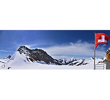 Jungfraujoch Views - the Spirit of Switzerland Photographic Print