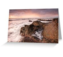 Morning-Black Head-NSW Mid North Coast Greeting Card