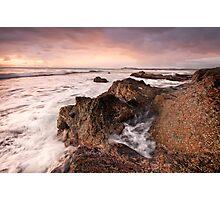 Morning-Black Head-NSW Mid North Coast Photographic Print