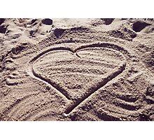 Love the Beach Photographic Print