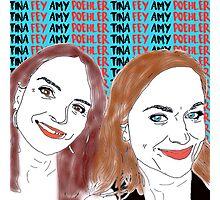 Tina Fey & Amy Poehler  Photographic Print