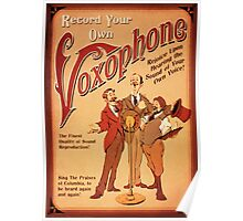 BioShock Infinite – Record Your Own Voxophone Poster Poster