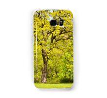 Large spring oak tree Samsung Galaxy Case/Skin