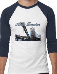 Beautiful London Tower bridge Men's Baseball ¾ T-Shirt