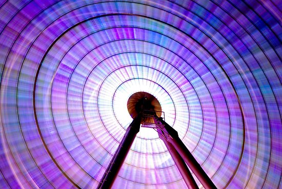 Colour Wheel: Ferris Wheel by Obscuro