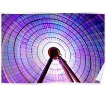 Colour Wheel: Ferris Wheel Poster