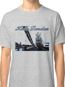 Beautiful London Tower bridge Classic T-Shirt
