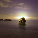 DUNURE SUNSET by leonie7