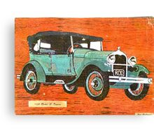 Model A 1928 Ford Canvas Print