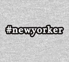 New Yorker - Hashtag - Black & White Kids Tee